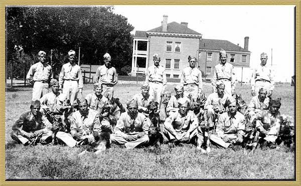47th Scout Dog Platoon, WWII, Fort Robinson, Nebraska