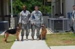 Retirement ceremonies at Fort Benning