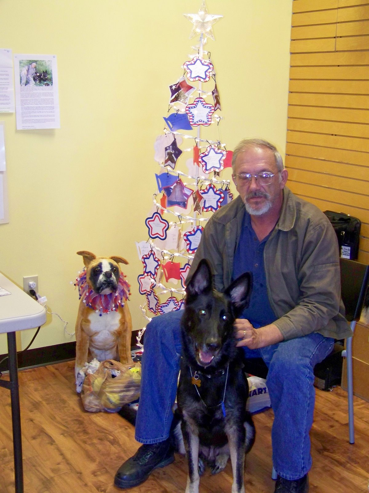 James Kessel and Egon at Top Dogs