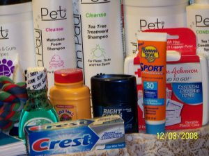 More items donated by MS. Wilson