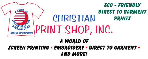 Christian Print Shop Sponsor Logo