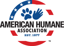 Sponsor logo for the American Humane Association