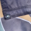 This image shows the stitching and grommets on the MWDTSA Guardians of the Night flag.