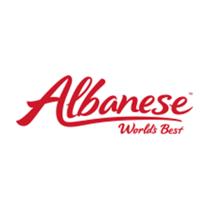 This is the logo of Albanese, one of MWDTSA's sponsors.