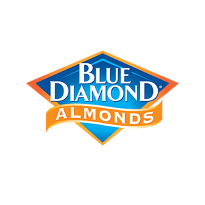 This is the logo of MWDTSA sponsor Blue Diamond Almonds.