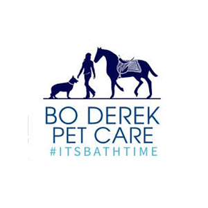 This is the logo of MWDTSA sponsor Bo Derek Pet Care.