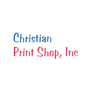This is the logo of MWDTSA sponsor Christian Print Shop.
