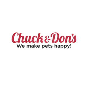 This is the logo of MWDTSA sponsor Chuck and Don's Pet Food and Supplies.