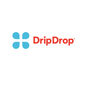 This is the logo of Drip Drop, one of MWDTSA's sponsors.