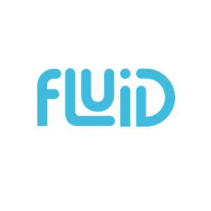This is the logo of Fluid, manufacturer of hydration products and one of MWDTSA's sponsors.