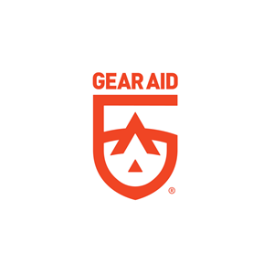 Red Gear Aid logo on white background