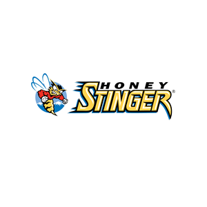 This is the logo of Honey Stinger, one of MWDTSA's sponsors.