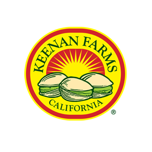 Logo for Keenan Farms, producer of pistachios.