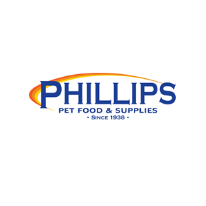 This is the logo of Phillips Pet Food and Supplies, one of MWDTSA's sponsors.
