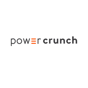 This is the logo of Power Crunch, one of MWDTSA's sponsors.