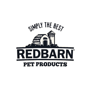 This is the logo of Red Barn Pet Products, one of MWDTSA's sponsors.