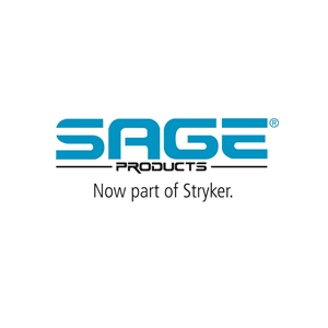 This is the logo of Sage Products, now part of Stryker and one of MWDTSA's sponsors.
