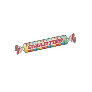 This is the logo of MWDTSA sponsor Smarties.