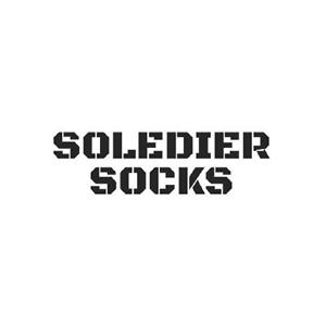 Soledier Socks logo.