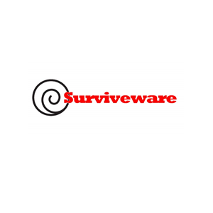This is the logo of Surviveware, one of MWDTSA's sponsors.