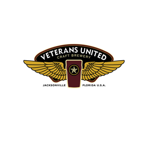 This is the logo of Veterans United Craft Brewery, one of MWDTSA's sponsors.