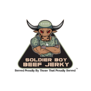 This is the logo for Soldier Boy Beef Jerky, an MWDTSA Sponsor