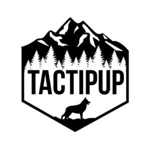 This is the logo for Tactipup, an MWDTSA Sponsor