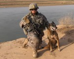 Ssgt Phillip Mendoza III and Rico