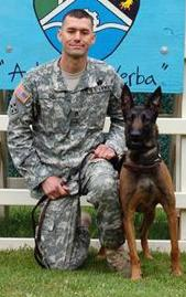 Staff Sgt. James Ide and Ddaphine