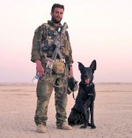 Sgt. William (Billy) Soutra and his Specialized Search Dog, Posha F738